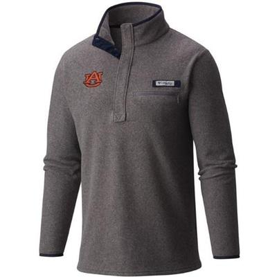 Auburn Columbia Harborside 1/4 Zip Fleece Jacket