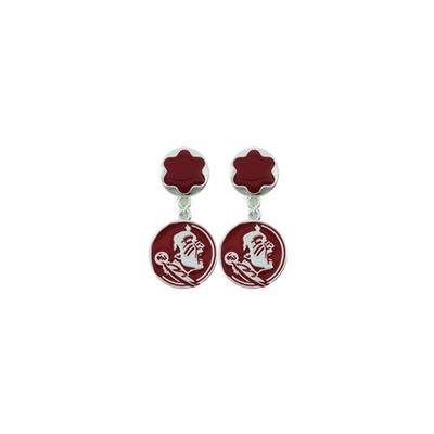 Florida State Elizabeth Dangle Earrings