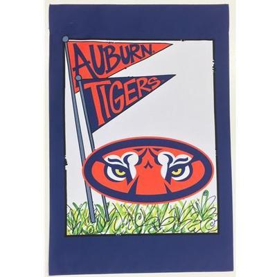 Auburn Magnolia Lane Mascot Garden Flag