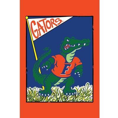 Florida Magnolia Lane Mascot Garden Flag