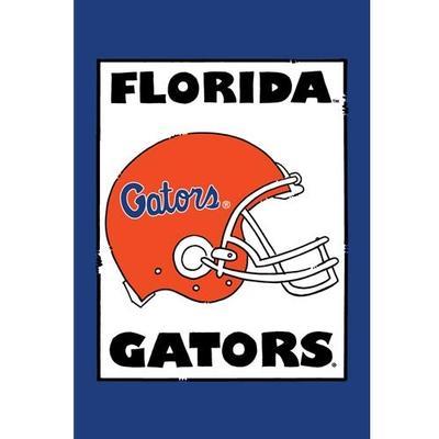 Florida Magnolia Lane Football Helmet Garden Flag