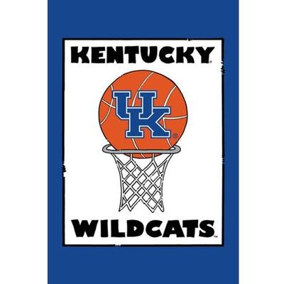 Kentucky Basketball Garden Flag (12