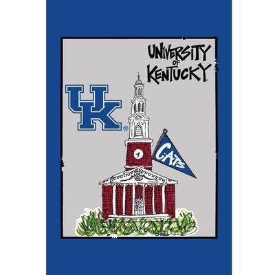 Kentucky School Building Garden Flag (12