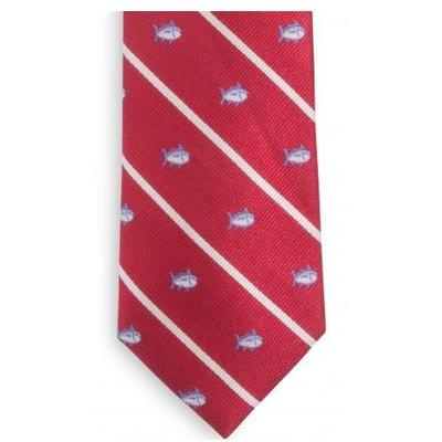 Southern Tide Skip Jack Tie (Crimson)