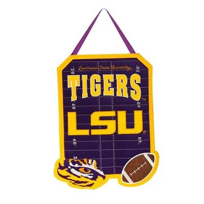 LSU Door Decor