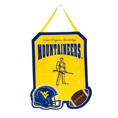 West Virginia Door Decor