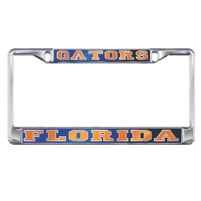 Florida License Plate Frame Mirrored Gators