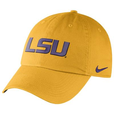 LSU Nike Heritage 86 Authentic Adjustable Hat