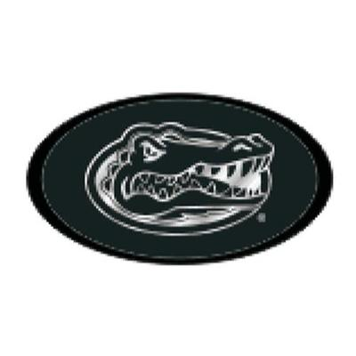 Florida Hitch Cover Black Mirrored