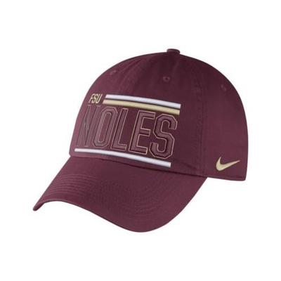 Florida State Nike Heritage 86 Unstructured Adjustable Hat