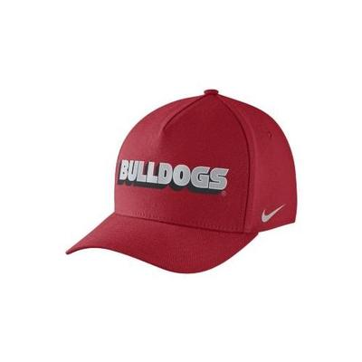 Georgia Nike Local DNA Swoosh Flex Fit Hat