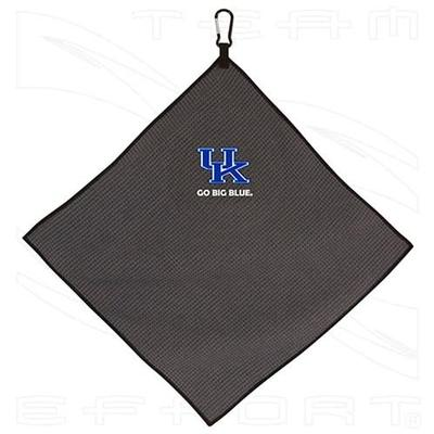 Kentucky Microfiber Golf Towel (Grey)