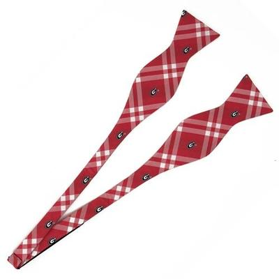Georgia Eagle Wings Self Tie Bow Tie