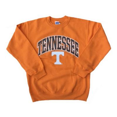 Tennessee Arch With Logo Crew Sweatshirt