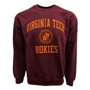 Virginia Tech College Seal Crew Sweatshirt