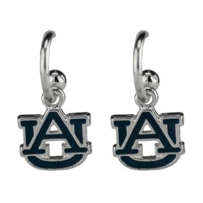 Auburn Enamel Dangle Earrings