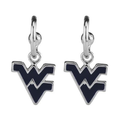 West Virginia Enamel Dangle Earrings