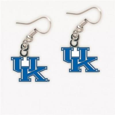 Kentucky UK Logo Dangle Earrings