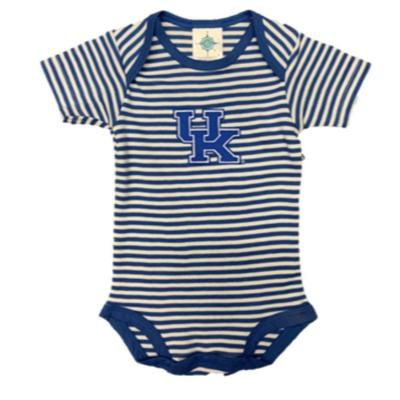 Kentucky Infant Striped Bodysuit