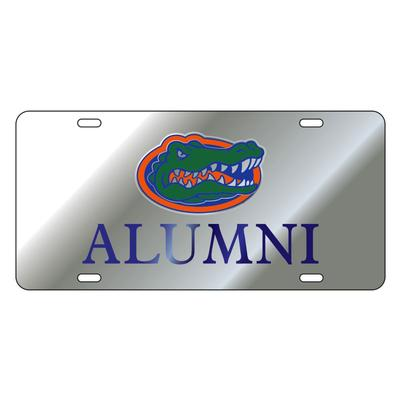 Florida License Plate Silver Alumni