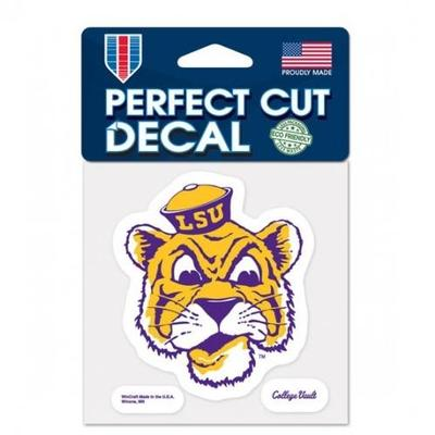 LSU Decal Vault Tiger Head Logo (4