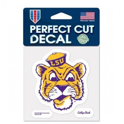 LSU Decal Vault Tiger Head Logo (4