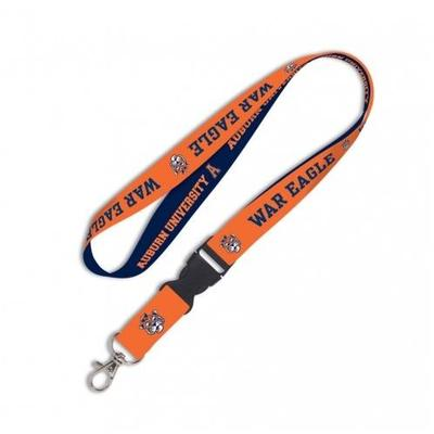 Auburn Vault Logo Lanyard With Detachable Buckle