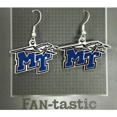 MTSU Fantastic Dangle Earrings