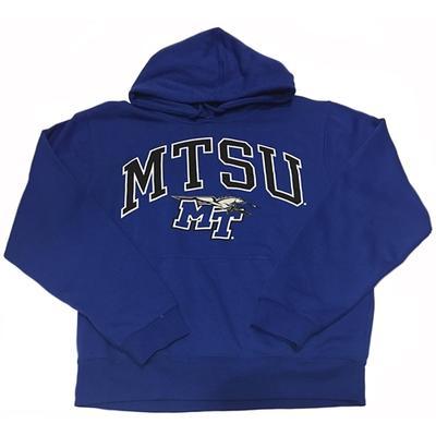 MTSU Arch Logo Hooded Sweatshirt