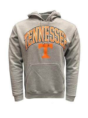 Tennessee Arch with Logo Hooded Sweatshirt GREY