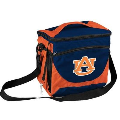Auburn Logo Chair 24 Can Cooler With Bottle Opener