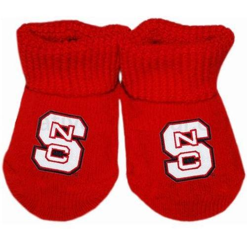 Nc State Infant Gift Box Booties