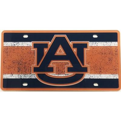 Auburn License Plate Vintage Logo