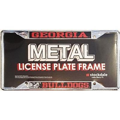 Georgia License Plate Frame Mega Logo