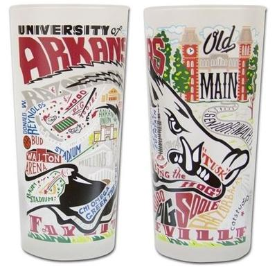 Arkansas College Town Glass