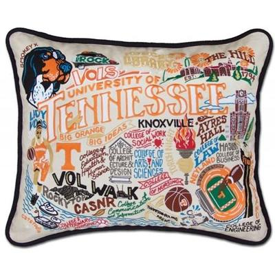 Tennessee Hand Embroidered Pillow