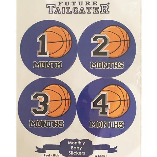 Basketball Infant Tummy Stickers