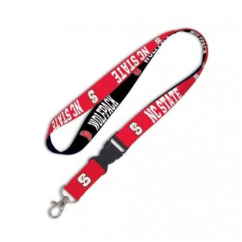 Nc State Lanyard With Detachable Buckle