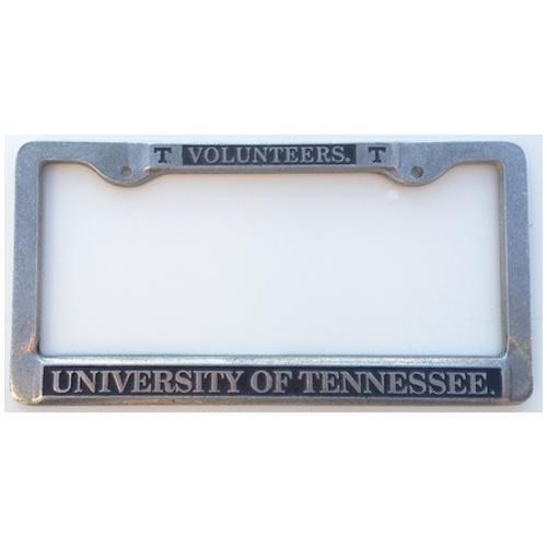 Vols- Tennessee Vols/UT License Plate Frame (Pewter)- Alumni