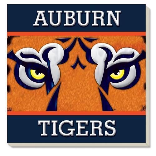 Auburn Tiger Eyes Coaster (4 Pack)