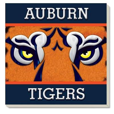 Auburn Tiger Eyes Coaster (4 Pack)