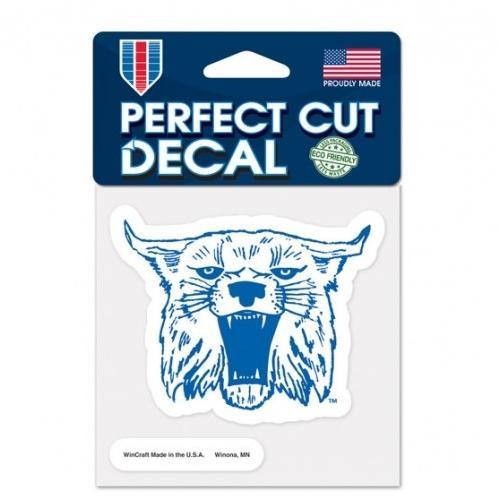 Kentucky Decal Retro Wildcat Logo (4