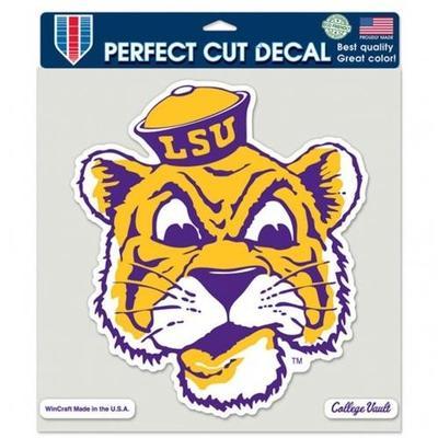 LSU Decal Vault Tiger Head Logo (8