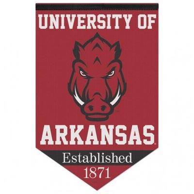 Arkansas Felt Banner