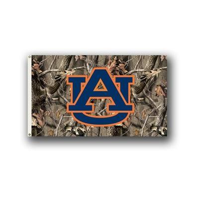 Auburn Camo House Flag (3'x5')