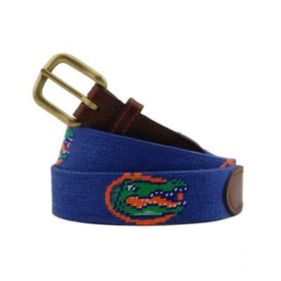Florida Smathers and Branson Needlepoint Belt