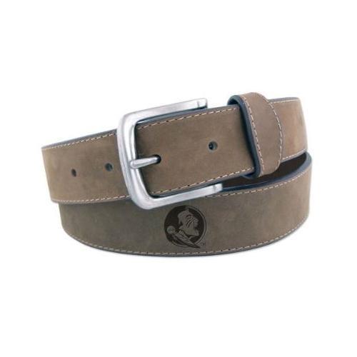 Florida State Embossed Leather Belt