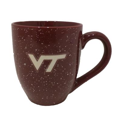 Virginia Tech Speckled Bistro Mug
