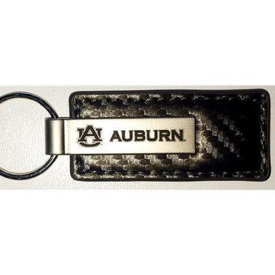 Auburn Carbon Fiber Key Chain (Gunmetal)