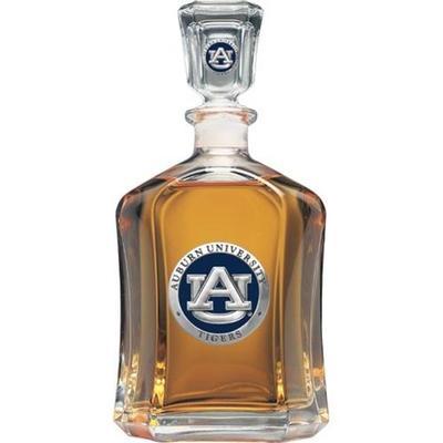 Auburn Heritage Pewter Capitol Decanter (Navy Emblem)
